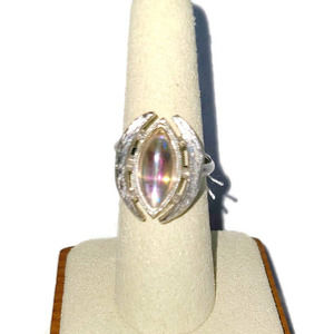 Vintage ring, Sarah Coventry ring, 1974